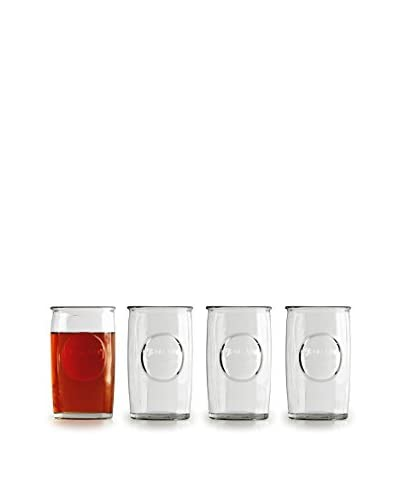 Circleware Set of 4 Yorkshire 16-Oz. Highball Glasses, Clear
