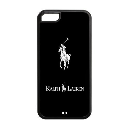 Custom Polo Ralph Lauren in Simple Style Hard Case Protective Cover for Iphone 5C Case ,Polo Black Iphone 5C Case