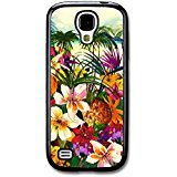 Tropical Island Hipster Grunge Pineapple with Palm Tree Design case for Samsung Galaxy S4 mini (Samsung S4 Mini Palm Tree Cases compare prices)