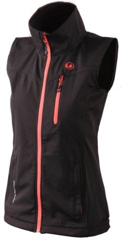 Ultrasport Athina Weste Softshell Gilet per Donna, Nero/Dubarry, L
