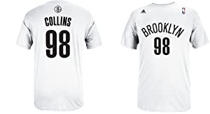 Jason Collins Brooklyn Nets Jersey Name and Number T-Shirt by adidas
