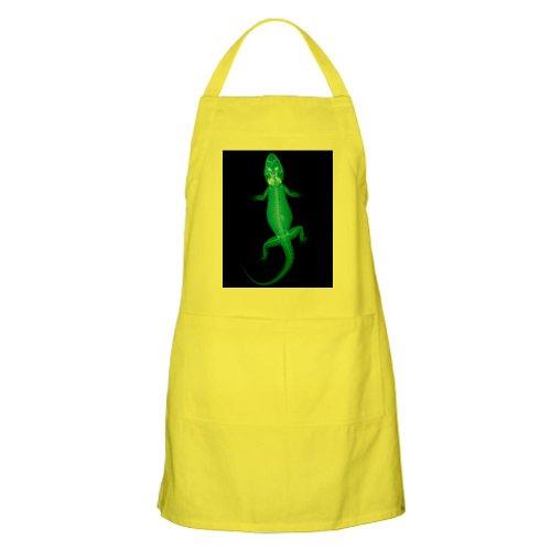 Cafepress X-Ray Of A Gecko Lizard - Apron - Standard