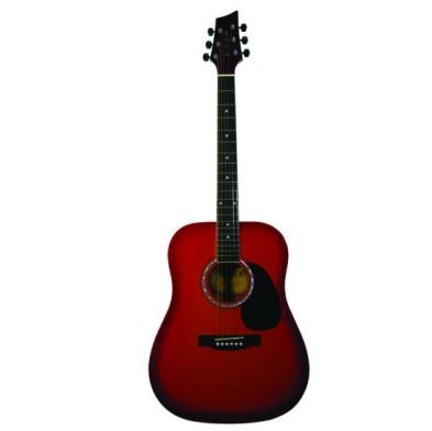 Kona Guitars K41Csb K41 Series Acoustic Guitar With Ebonized Hardwood