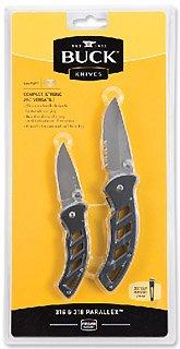 Buck Knives Combo 316/318 Parallex