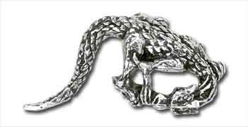 Alchemy Gothic Dragon Single Earring