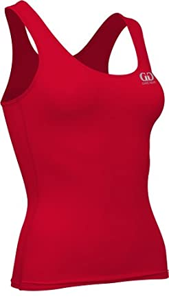 Buy Game Gear Ladies Compression Support Fitness Odor Resistant Top by Game Gear
