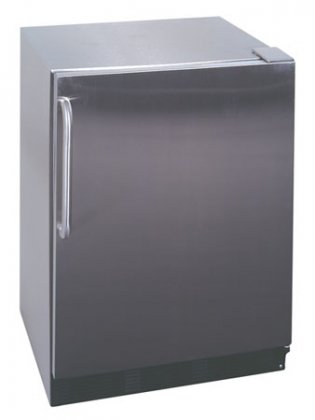 24 Inch Wide Refrigerator Stainless Steel front-472592