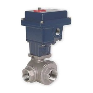 Ball Valve, Electric, 1 1/2 In Npt, Ss