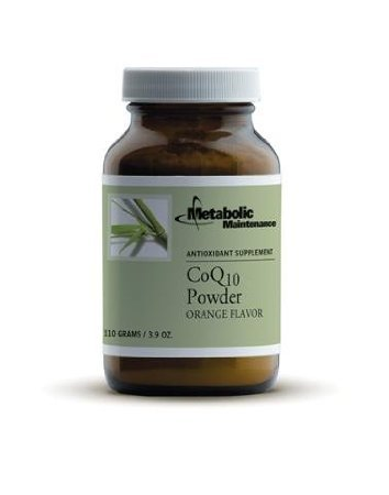 Metabolic Maintenance Coq10 Powder [Orange Flavor] 111 Gms