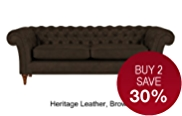 Portabella Large Sofa - Leather