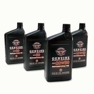 Genuine Harley-Davidson? H-D? 360 Motorcycle Oil - 50