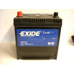 Exide Excell EB605 60Ah Autobatterie wartungsfrei