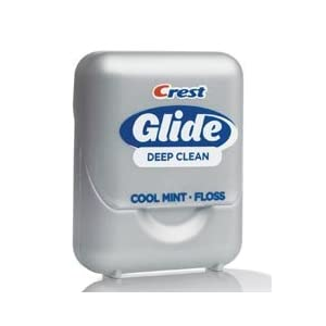 Crest Glide Dental Floss Deep Clean, Mint - 1 ea 16.4 yd