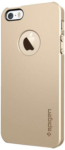 国内正規品SPIGEN SGP iPhone5/5S ケース ウルトラ・シン エアA [シャンパンゴールド]SGP10607