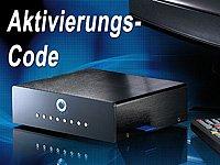 Code für die Aktivierung der Aufnahmefunktion bei Mediaplayer PX-8571