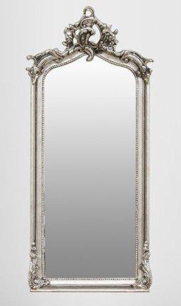 Casa Padrino Baroque silver mirror 115 x 48 cm