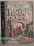 Boswells London Journal, 1762-1763.
