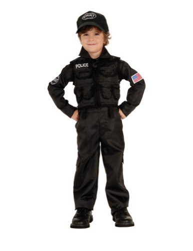 Baby-Toddler-Costume Policeman Swat Toddler Costume Halloween Costume