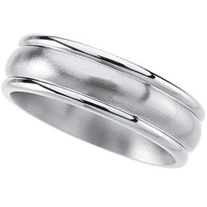 Titanium 7.0mm Band: Size 8