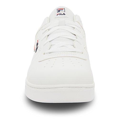 Fila Men's Court 13 Low Fashion Sneakers, White, 10.5 M