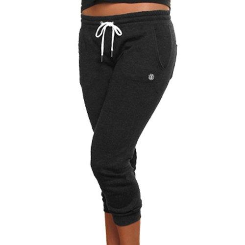 Element Cardiff Juniors Cropped Sweatpants - Charcoal (X-Large)