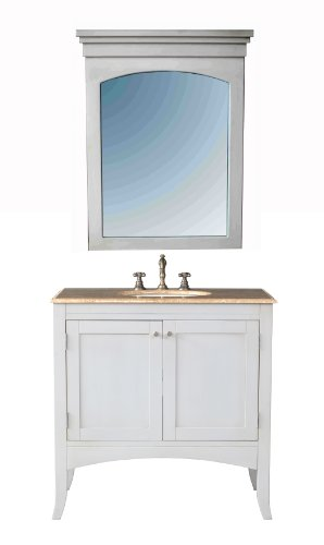 Stufurhome-GM-6119-36-TR-36-Inch-Alyssa-Single-Vanity-in-Cream-Off-White-Finish-with-Marble-Top-in-Travertine-with-White-Undermount-Sink-and-Mirror