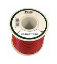 Pico 81221J 22 AWG Red Primary Wire 50' per Package