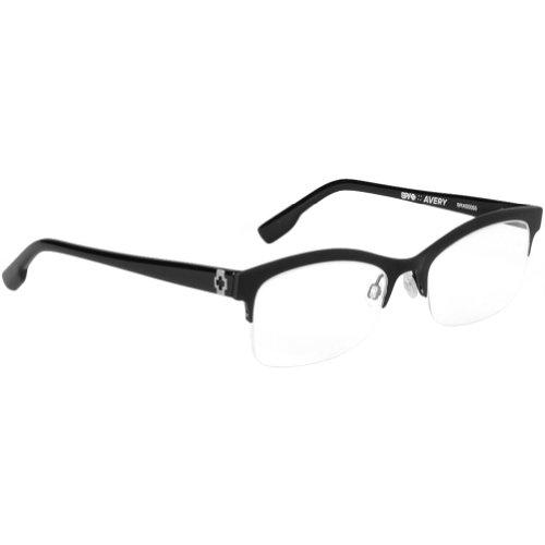 Spy Optic Avery Rx Eyeglasses - Spy Optic Adult Optical Prescription Frame - Matte Black / Size 52-17-135 front-910146