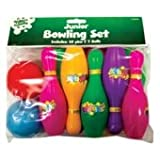 JUNIOR TEN PIN BOWLING SET WITH 2 BALLS