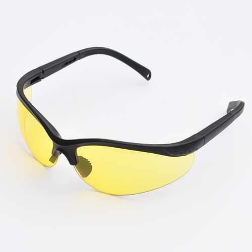 Ledwholesalers Uv Protection Adjustable Safety Glasses With Yellow Tint, 7821