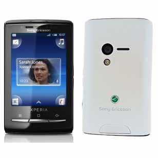 Sony Ericsson E10i (X10 Mini) Xperia Unlocked Smartphone. Pearl White Color. International Version with Warranty