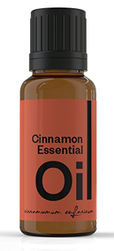 Cielune Cinnamon Bark Essential Oil - 100% Pure, Undiluted All Natural Premium Cinnamomum Zeylanicum Oil - Therapeutic Grade for Alternative Medicine - Ideal for Skin Care, Hair Care, Aromatherapy & Massage - Satisfaction Guaranteed - 10ML