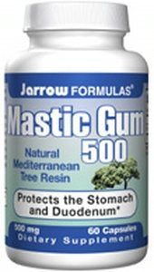 Mastic Gum ( 60 Caps 500 Mg ) ( Natural Mediterranean Tree Resin ) Jarrow Formulas