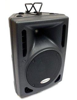 Mark Audio M8P PA-Box 8/2 mit 90W-PowerAmp, Profi-ABS-Kunststoffgehäuse, black