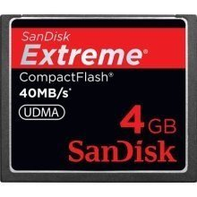 Buy Cheap SanDisk Extreme CompactFlash 4 GB Memory Card 40MB/s SDCFX-004G-X46