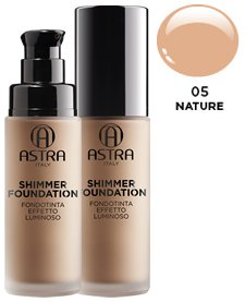 ASTRA Fdt shimmer luminoso 05 nature* - Cosmetici