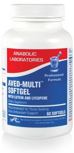 Anabolic Laboratories, Aved-Multi Softgel With Lutein And Lycopene, 120 Softgel Caps