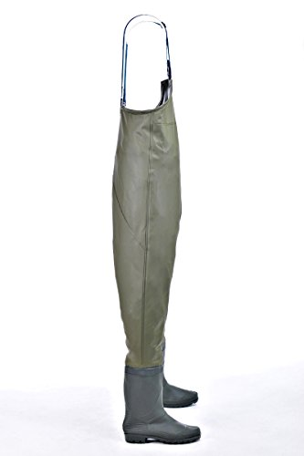 Galleon hisea insulated boot foot chest waders for Chest waders for fishing