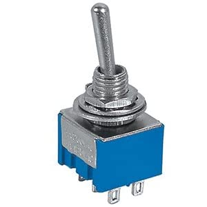 ONE SIDE MOMENTARY ON MINIATURE TOGGLE SWITCH: Industrial & Scientific