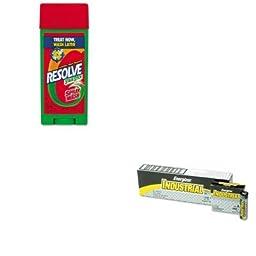 KITEVEEN91RAC81996 - Value Kit - Reckitt Benckiser Spray N\' Wash Pre-Treat Stain Stick (RAC81996) and Energizer Industrial Alkaline Batteries (EVEEN91)