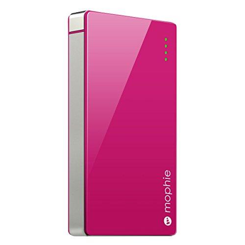 日本正規代理店品・保証付mophie powerstation 4000 高出力モバイルバッテリー ピンク MOP-BY-000033