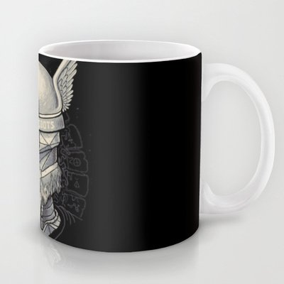 Society6 - Viking Robot Coffee Mug By Mathijs Vissers