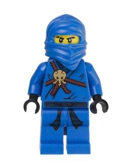 Jay (Blue Ninja) - Lego Ninjago Minifigure - 1