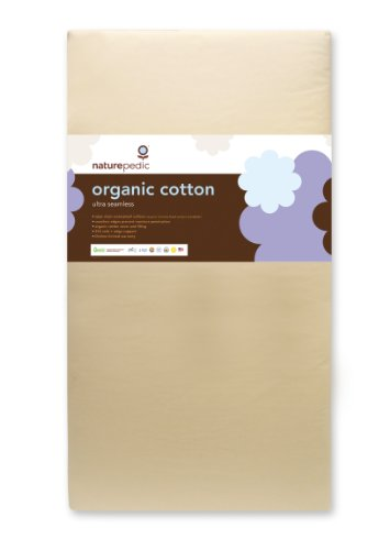 Naturepedic No Compromise Organic Cotton Ultra 252 Seamless Crib Mattress