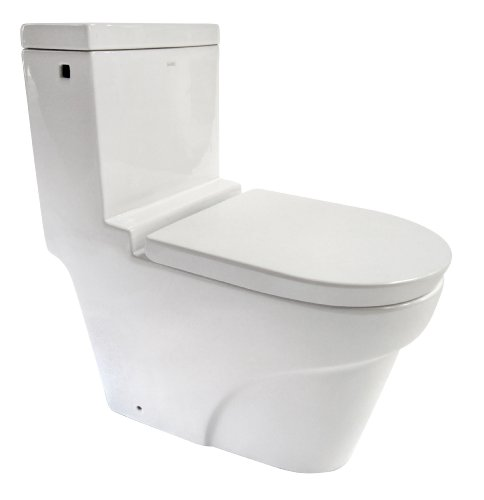 EAGO TB326 Ultra Low Flush EcoFriendly Toilet, White