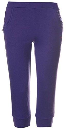 ladies-lightweight-3-4-length-interlock-pants-jogging-bottoms-16-purple