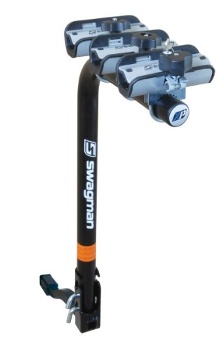 Swagman XP Fold Down 3-Bike Hitch Mount Rack (2-Inch Receiver)