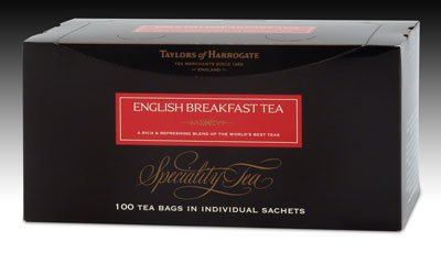 Taylors of Harrogate English Breakfast Tea - String and Tag 100ct.
