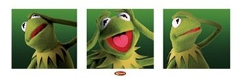 Kermit the Frog Muppet Show Classic TV Poster 12 x 36 inches