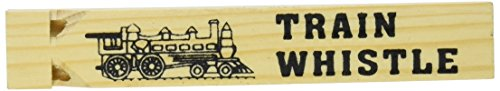 Fun Express Wooden Train Whistles - 12 Pieces (12 Wood Train Whistles compare prices)